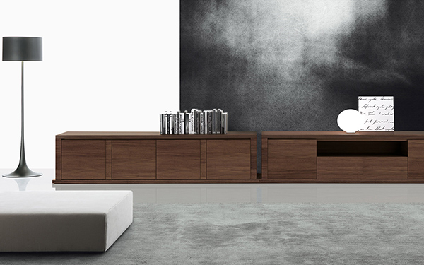 low-lying furniture