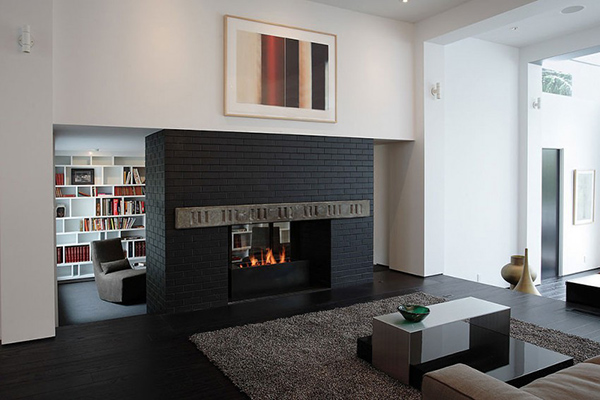 elegant fireplace design