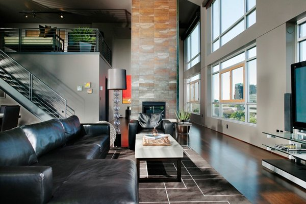 Living Room Designs Black Sofa 20 attractive black sofa living room | home design lover