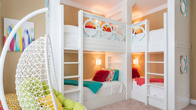 22 Cool Designs Of Bunk Beds For Four Home Design Lover