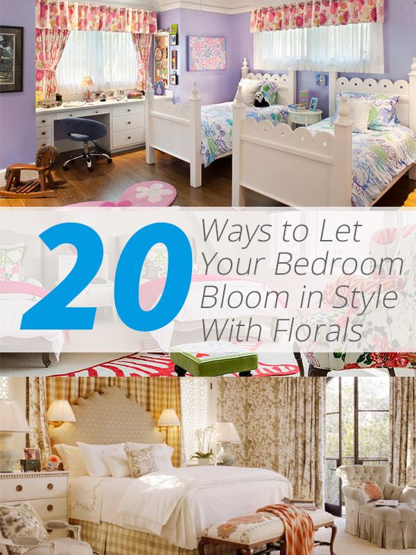 bedroom floral