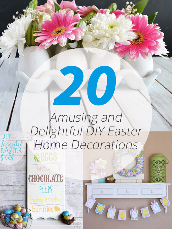 diy easter home decors