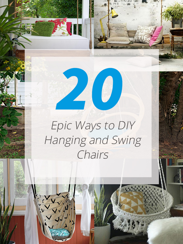 Merveilleux Diy Swing Chairs
