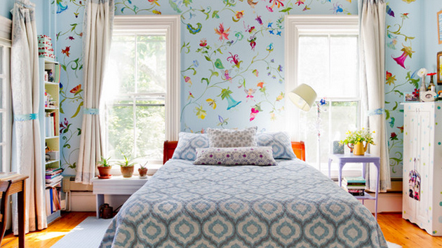 20 Ways To Let Your Bedroom Bloom In Style With Florals Home Design Lover