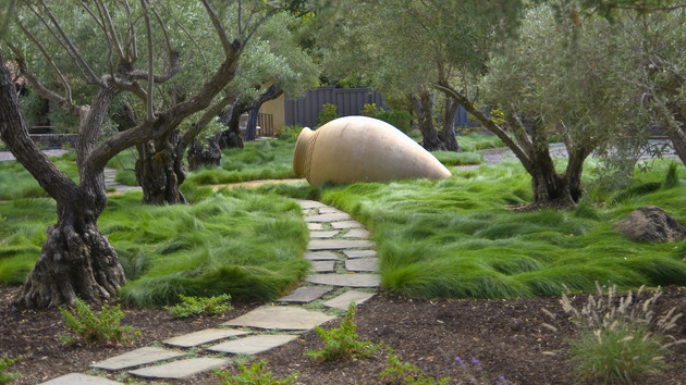 20 landscaping ideas using grass plants home design lover - Garden Design Using Grasses