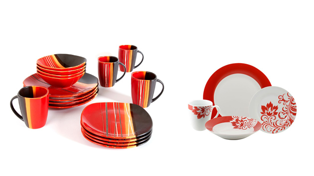 sc 1 st  Home Design Lover & 20 Bold and Stunning Red Dinnerware Sets | Home Design Lover