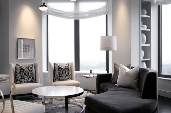 20 Exemplary Silver Accents in the Living Room | Home Design Lover
