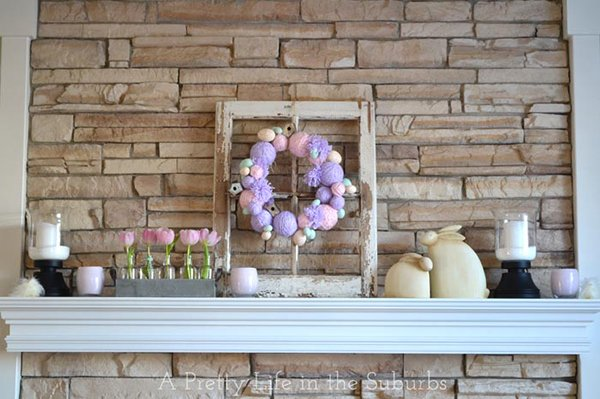 My Easter Mantel