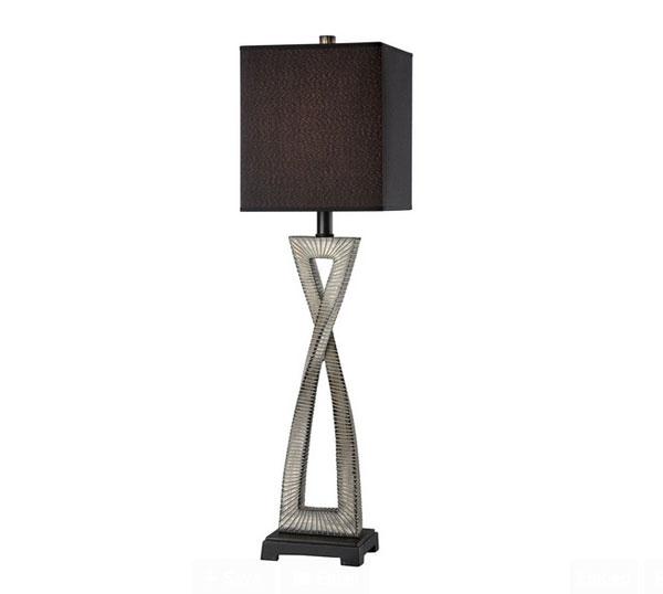 dark gold buffet lamp