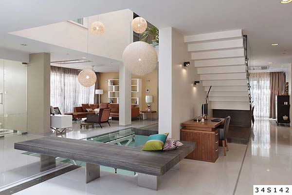 Villa In Meenakshi Bamboos Shows Off A Water Body In The