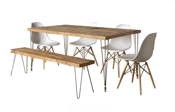 Urban Loft Reclaimed Wood Dining Table