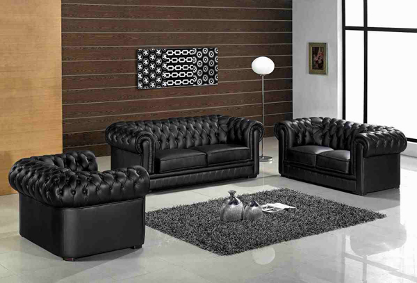 Wondrous 20 Modern Leather Living Room Furniture Home Design Lover Download Free Architecture Designs Intelgarnamadebymaigaardcom