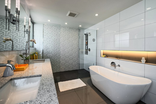 bathroom sink laundry area