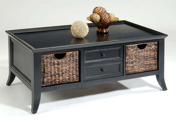 22 Well Designed Coffee Tables With Basket For Storage Home