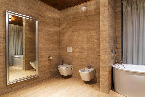 Keramik-WC Badezimmer