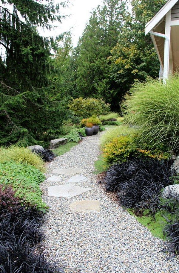 pathway gravel exterior