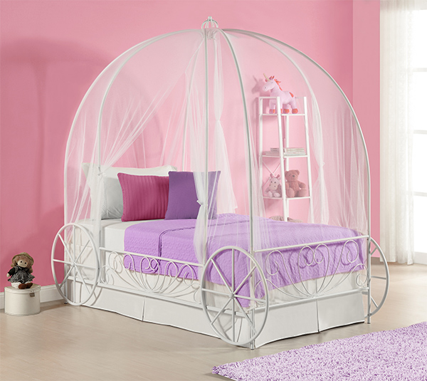 20 Whimsical Girls Full Canopy Beds Fit for a Princess ...