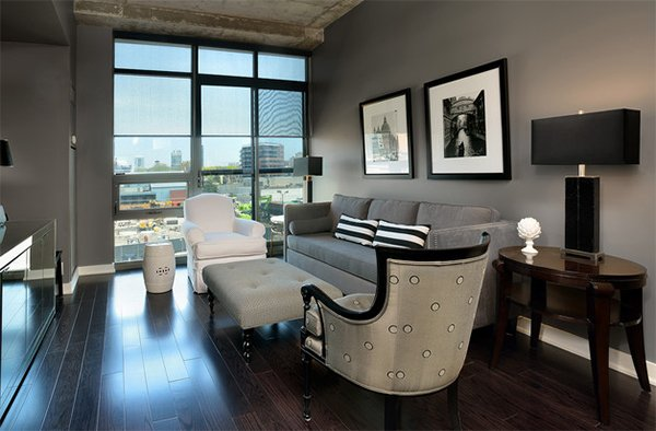 Delicieux Condo Living Areas Design