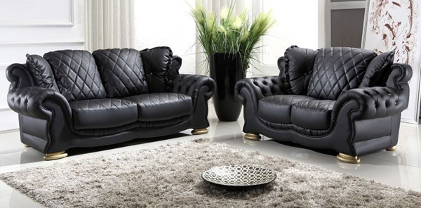 leather sofa designs for living room. leather living room 20 Modern Leather Living Room Furniture  Home Design Lover