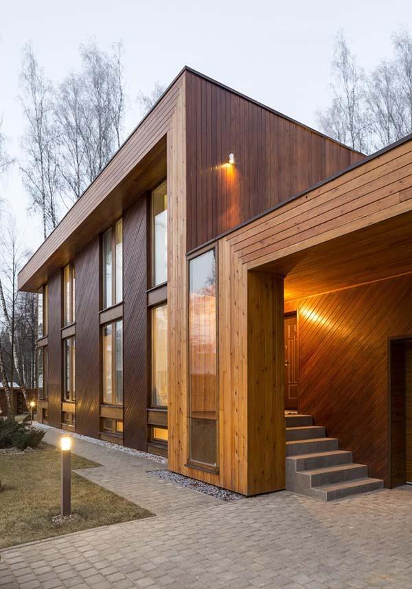 exterior wood design