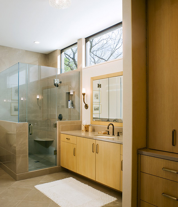 Bathroom Remodeling In Ct: Connecticut Home With Dual Views Secluded In The Beauty Of