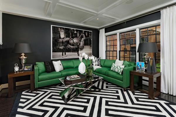 emerald sofas