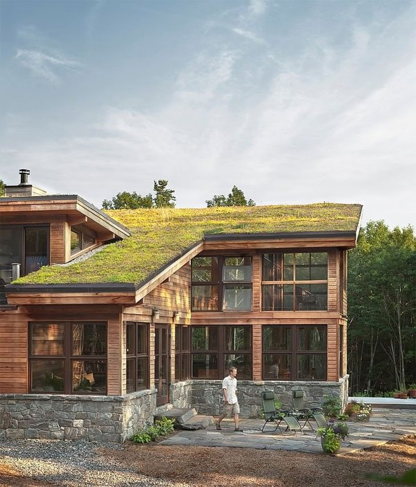 Green Home Design Ideas: 23 Impressive Designs Of Green -Roofed Houses