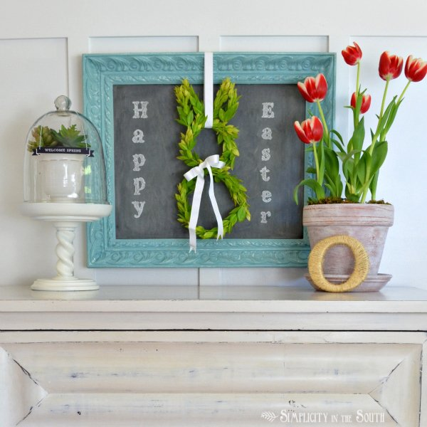 My Easter Decor