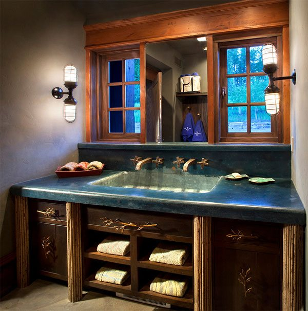 concrete countertop Vanity Furniture