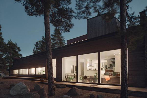 Modernes Haus in Ingaro
