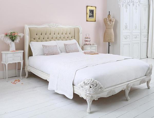 Provencal Velvet Upholstered Beds