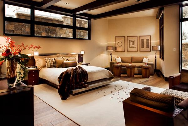 bronze color bedroom