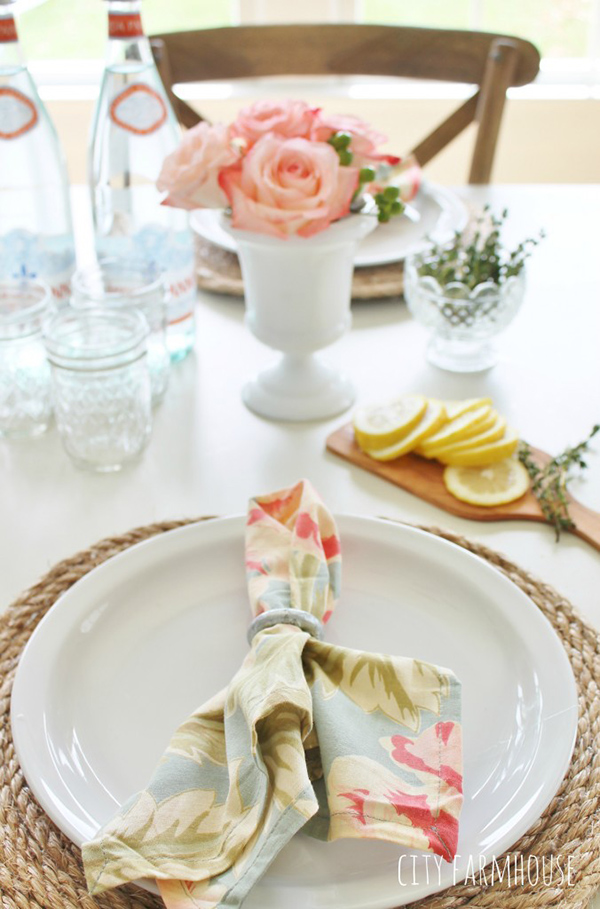 22 Diy Placemats For Beautiful Dining Setting Home