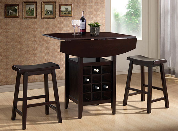 20 Well Designed Pub Tables With Wine Storage Home