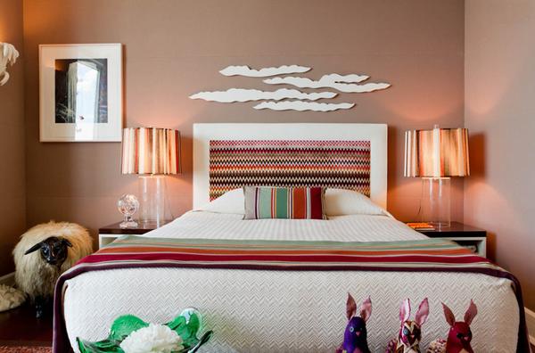 Bedroom bronze design