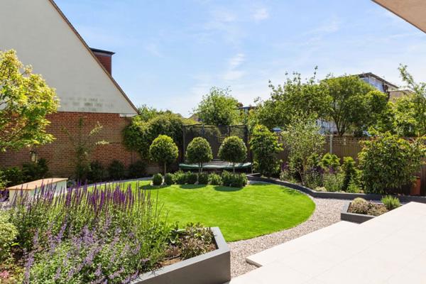 lawn garden area