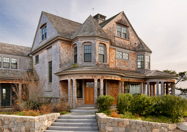 20 home designs reflecting victorian architecture home for Victorian shingles