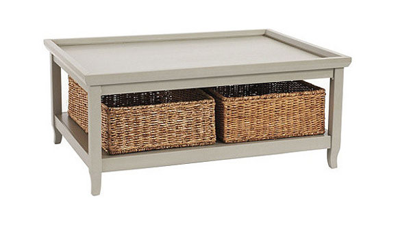 22 Welldesigned Coffee Tables with Basket for Storage Home Design