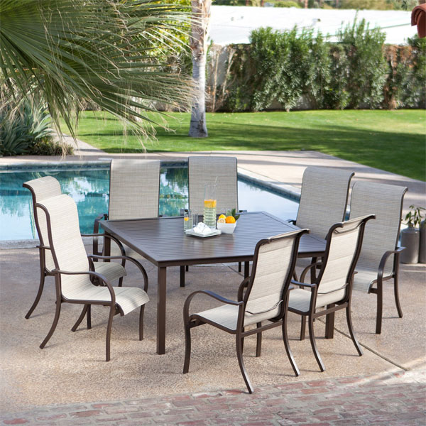 Outdoor Dining Patio Furniture 20 sturdy sets of patio furniture from cast aluminum | home design