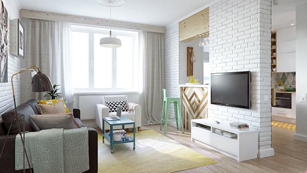 Moscow studio apartment