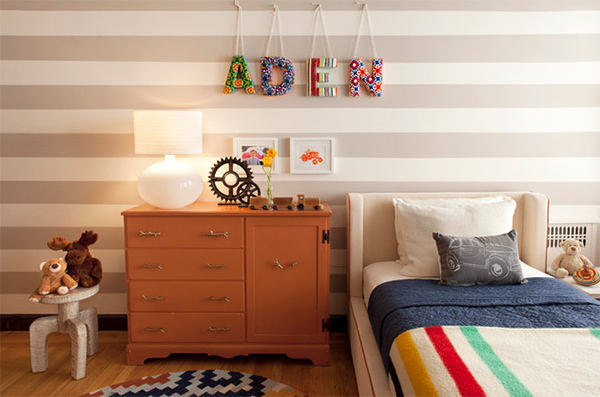 Girls Toddler Letter Boy Room