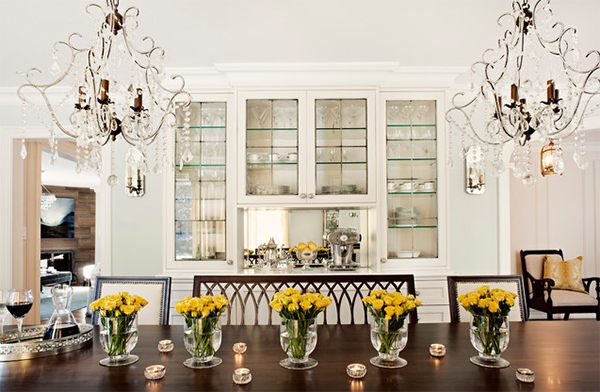 20 Ideas To Use Flower Centerpieces In The Dining Table Home Design Lover