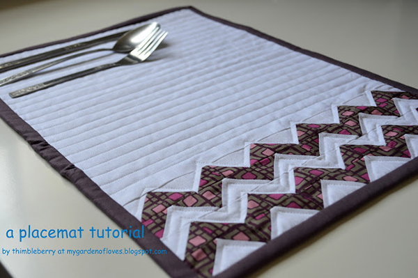 A Placemat Tutorial
