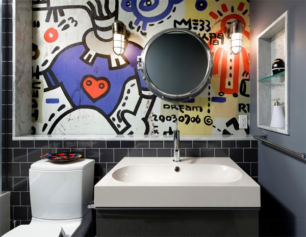 graffiti art decor ideas