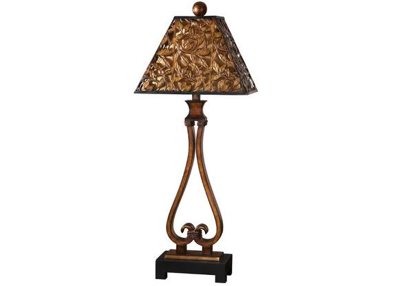 Golden Bronze Table Lamp