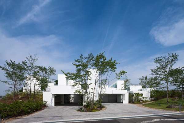modern geometric exterior design