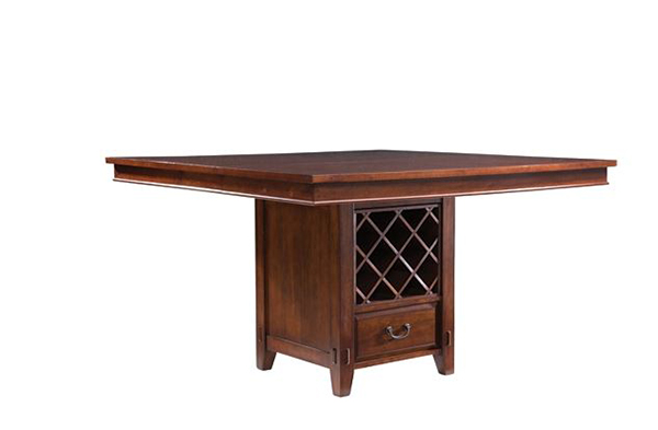 Vantana Counter-Height Dining Table With Leaf and Storage