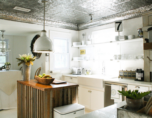 silver plating backsplash