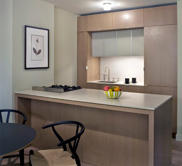 Small Space Condo Design: 20 Dashing And Streamlined Modern Condo Kitchen Designs