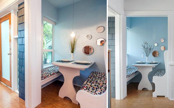 enclosed nook